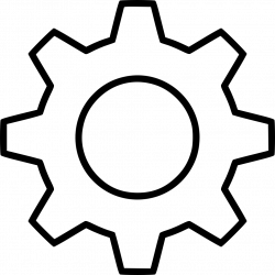 Cog Drawing at GetDrawings.com | Free for personal use Cog Drawing ...