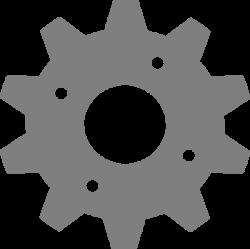 Gear Grey Clip Art at Clker.com - vector clip art online, royalty ...
