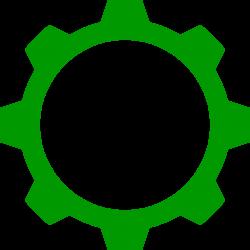 File:Green cogwheel.svg - Wikimedia Commons