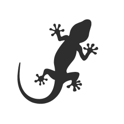 Gecko Silhouette at GetDrawings.com | Free for personal use Gecko ...
