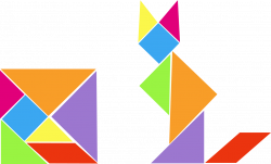 Geometry and 2D Shapes with the Help of a Tangram - Elementary Math