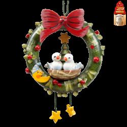 Käthe Wohlfahrt - Advent Wreath (Pigeons) | Christmas Ornaments ...