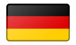 Flag of Germany (bevelled) Icons PNG - Free PNG and Icons Downloads
