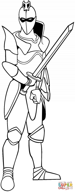 Knight Of Evil coloring page | Free Printable Coloring Pages