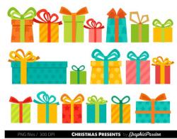 Presents Clipart Christmas Presents Clipart Birthday Presents Clipart Gifts  Clipart Present Clipart Presents Clip Art Colorful Presents