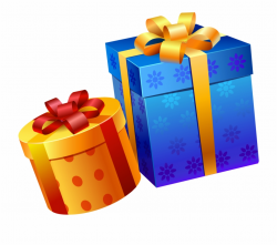 Gifts Clipart Png - Happy Birthday Gift Png Free PNG Images ...
