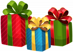 Colorful Gift PNG Clipart - Best WEB Clipart