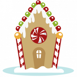 Gingerbread House SVG cutting files for cutting machines christmas ...