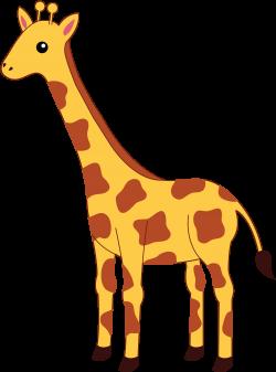 SIMPLE GIRAFFE OUTLINE | Cute Giraffe Clipart | APPLIQUE | Pinterest ...