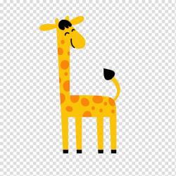 Northern giraffe Cartoon, Cartoon Giraffe transparent ...
