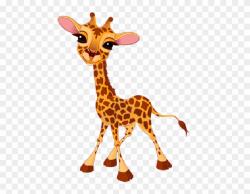 Giraffe Clipart Food - Giraffe Cartoon Images Png ...