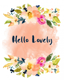 Free Girly Graphics and Watercolor Clip Art- Angie Makes