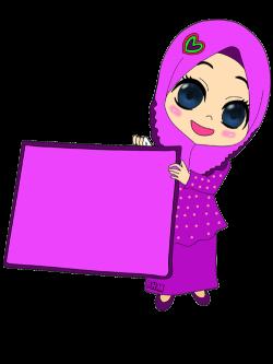 ✿~Bunga Hati~♥: FREEBIES DOODLE CONTENG SENDIRI. | muslim kids ...