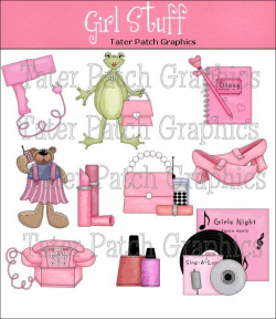Girl Stuff Clipart Girly Graphics