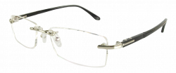 R58003 Men Glasses with Silver Frame - $69.00 : Cheap Glasses