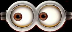 minions glasses snap snapchat eyes movie cinema...