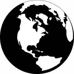 Earth clipart transparent silhouette