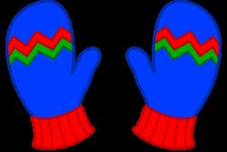 Clip Art Autumn Mittens - #1 Clip Art & Vector Site •