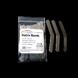 Life Dispo Matrix Bands – 8 Sizes – Bag – 144 Pieces - Dental Supply