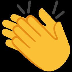 File:Emoji u1f44f.svg - Wikimedia Commons