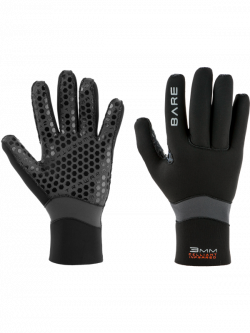 3mm Ultrawarmth Celliant Wetsuit Glove | BARE Sports