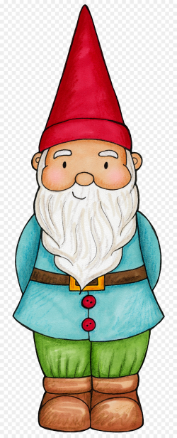 Garden gnome Clip art - Gnome png download - 792*2215 - Free ...
