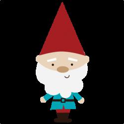 Kissing Gnomes Clipart