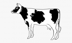 Goat Clipart Side View - Cow Side View Clipart , Transparent ...