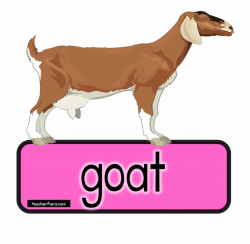 Goat Clipart Bakri - Cow Dog Domestic Animals Free PNG ...
