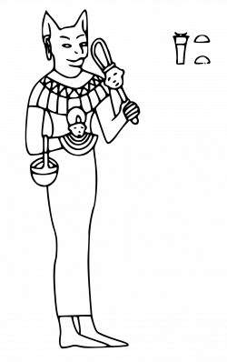 Clipart - Bastet