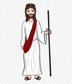 Jesus Clipart - Transparent God Cartoon Png, Png Download ...
