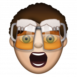 The Beer Goggles Guy | The Stag & Hen Emoji Collection | Pinterest ...