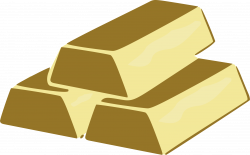 Clipart - Gold Bricks