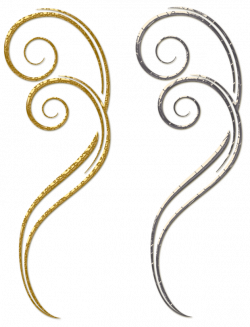 Gold Decorative Cliparts Free collection | Download and share Gold ...