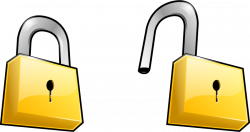 Lock clipart insecurity ~ Frames ~ Illustrations ~ HD images ~ Photo ...