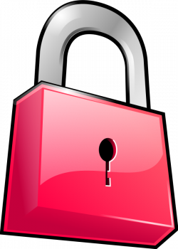 Lock clipart pink ~ Frames ~ Illustrations ~ HD images ~ Photo ...