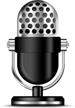 Podcast Clipart Microphone PNG - PHOTOS PNG