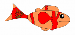 Goldfish Clipart Colored - Sad Fish Png Clipart Free PNG ...