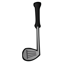 OnlineLabels Clip Art - Golf Club