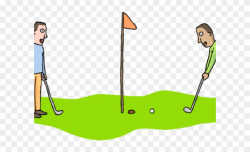 Golf Course Clipart Golf Lesson - Pitch And Putt - Png ...