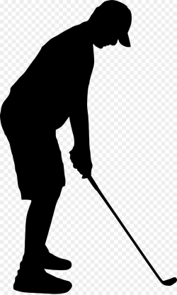 Golf Background clipart - Golf, Silhouette, Black ...