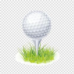 White golf ball , Tee Golf ball , golf transparent ...