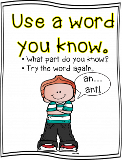 Word Strategy Posters | First Grade Wow | Bloglovin'