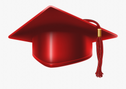Red Graduation Cap Png Clip Art Imageu200b Gallery - Red ...