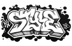 Graffiti Letter T Clipart - Free Clip Art Images | art lesson ideas ...