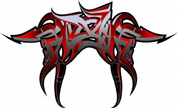Clipart - RaseOne 3D Graffiti Art