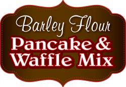 Barley Mix Pancakes | Spelt Mix Manitoba | Flowing Grains Inc