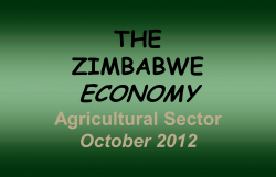 Land Reform and its Economic Impact - graphs - Mike Campbell Foundation