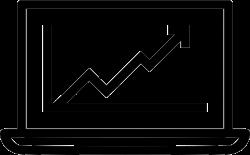 Online Marketing Growth Chart Success Upwards Management Svg Png ...
