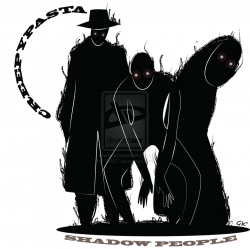 Creepypasta: Shadow People by GabKT | shadow people ^ slender man ...